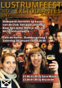 Lustrumfeest Extudiantes